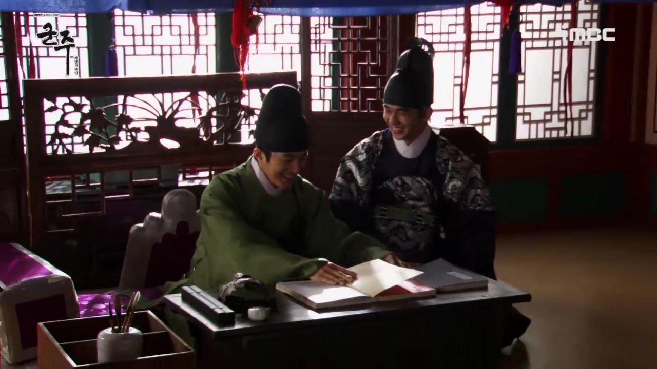 <군주> 유승호-엘, 꿀 떨어지는 촬영현장 공개! '이름까지 똑같으神 선깨비'