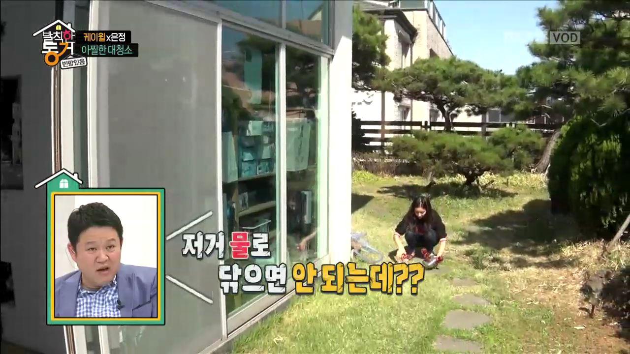 충격! 한은정의 '연쇄 피규어 샤워 사건'