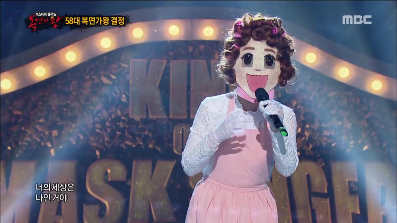 '흥부자댁' 6연승 신기록 달성하며 58대 가왕 수성…'마린보이'는 가수 존박