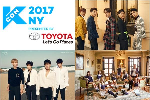 'KCON 2017 NY' 개최! 하이라이트-트와이스-여자친구 등 초호화 라인업!