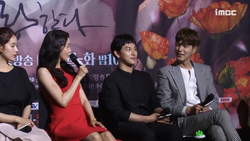 [왕은 사랑한다 쇼케이스영상] 홍종현→임시완→임윤아, 엇갈린 사랑의 작대기
