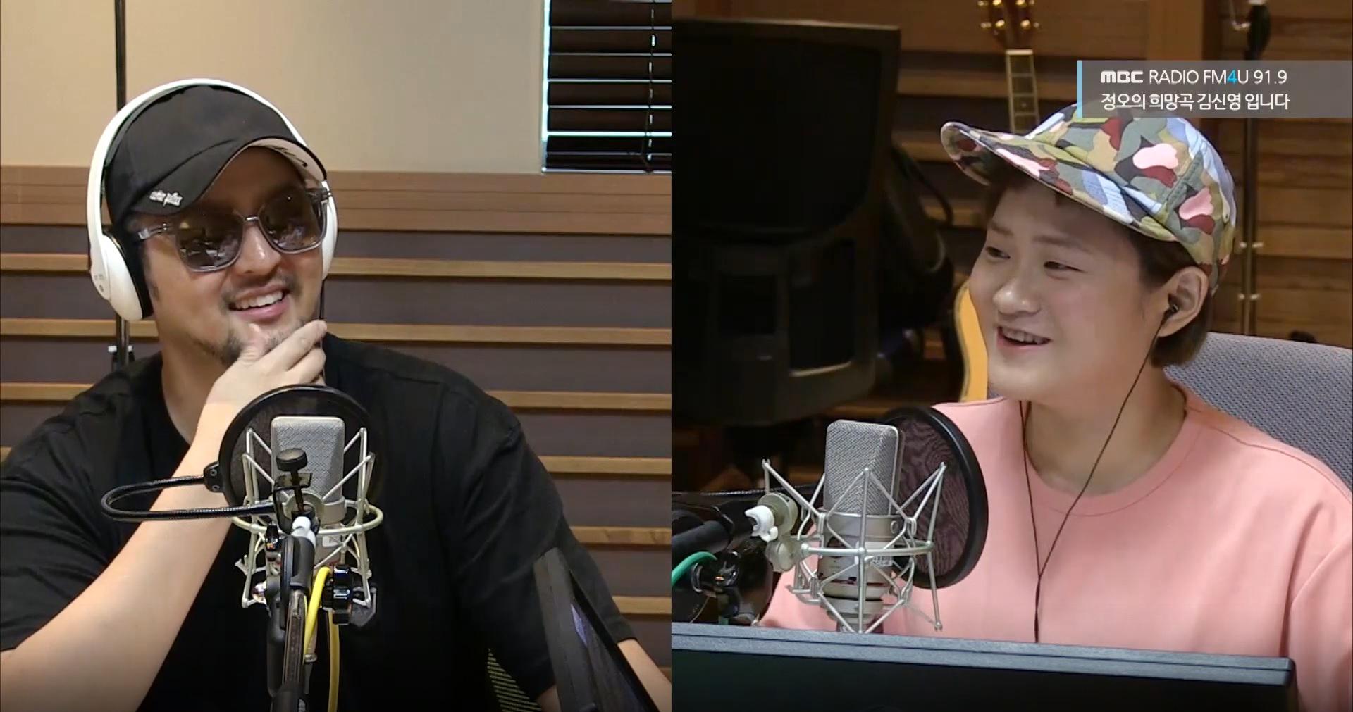 """<정오의 희망곡> 김태우, """"'나가수' 어떻게 노래로 시합을 하나 싶었다"""""""