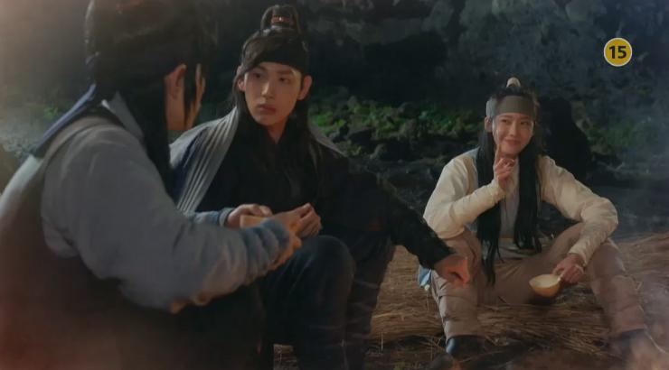 [왕은 사랑한다 예고] 임시완-임윤아-홍종현, 산 속 동굴에서 하룻밤! 이미지-1