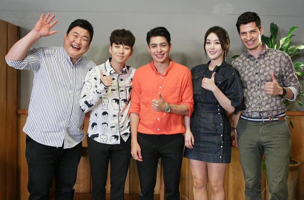 '은근 꿀잼' 입소문 탄 <어서와 한국은 처음이지?> 딘딘, 유쾌한 MC 활약