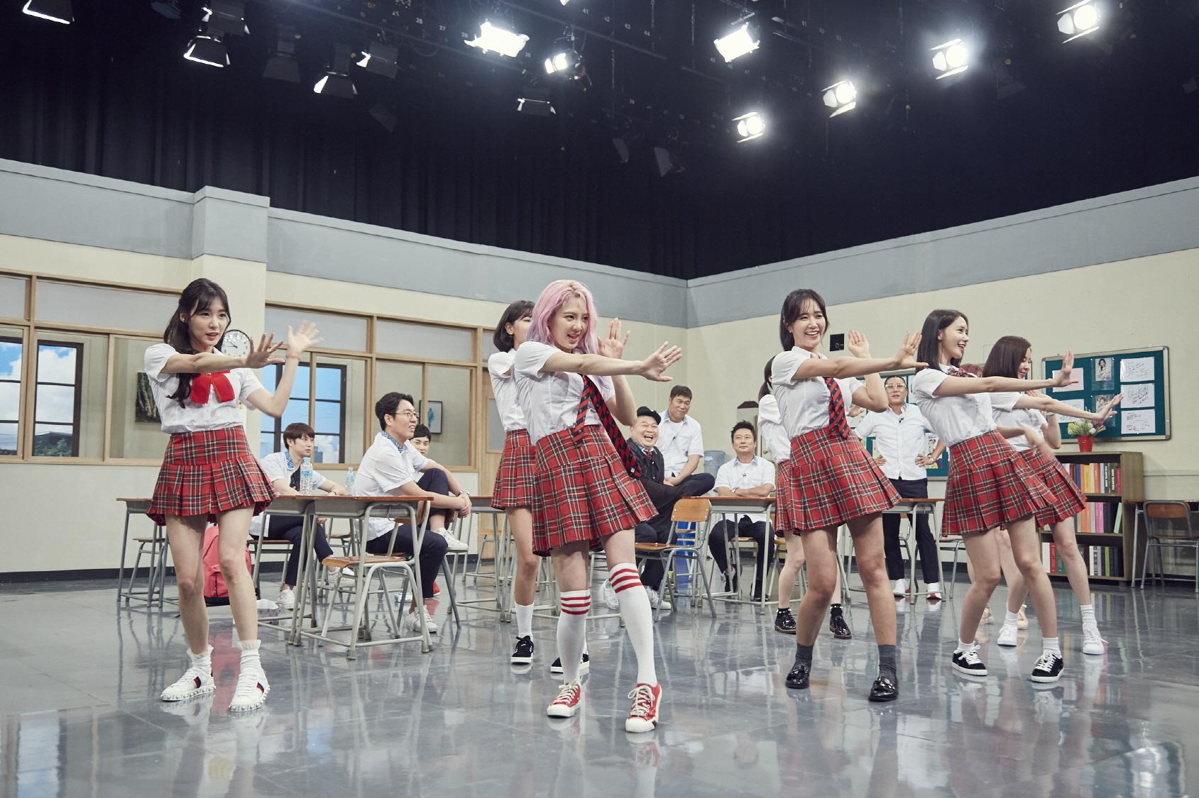 """<아는 형님> 소녀시대 윤아, 서현 흥 폭발! 강호동 """"이런 모습 처음 봐"""""""