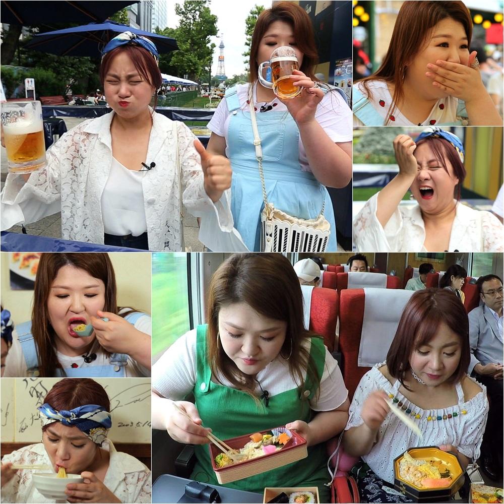 <배틀트립> 이국주-박나래, '호로록' 먹방 여신들의 먹방을 기대해~
