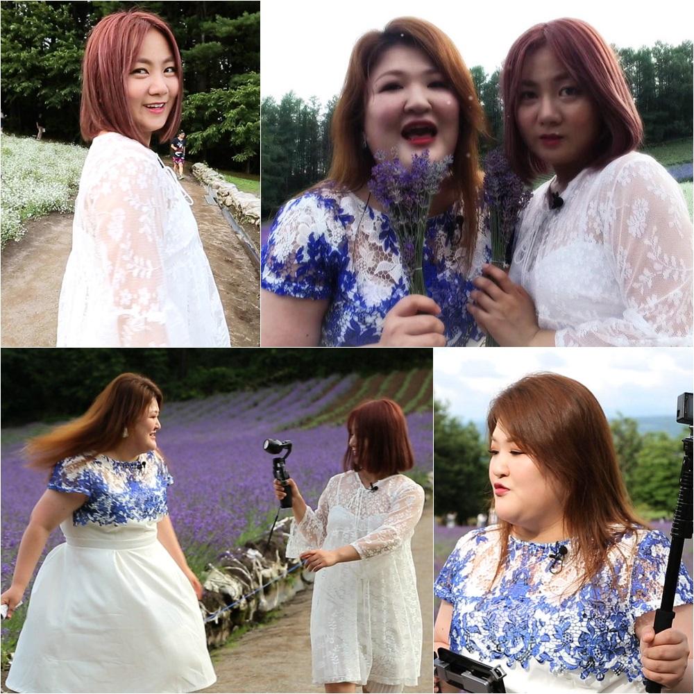 이국주-박나래, 라벤더밭 MV 촬영! '호러물인가요?' 반응에 폭소