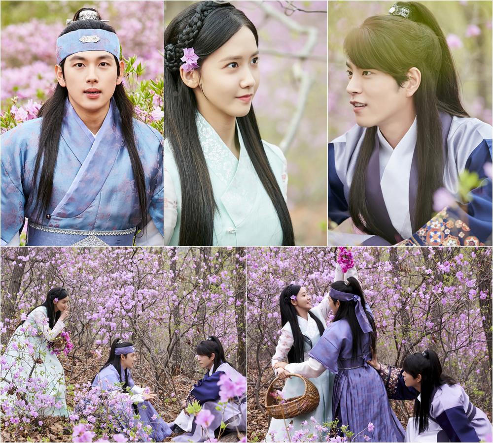 <왕은 사랑한다> 임시완-임윤아-홍종현, 꽃밭 속 '비주얼 폭발' 이미지-1