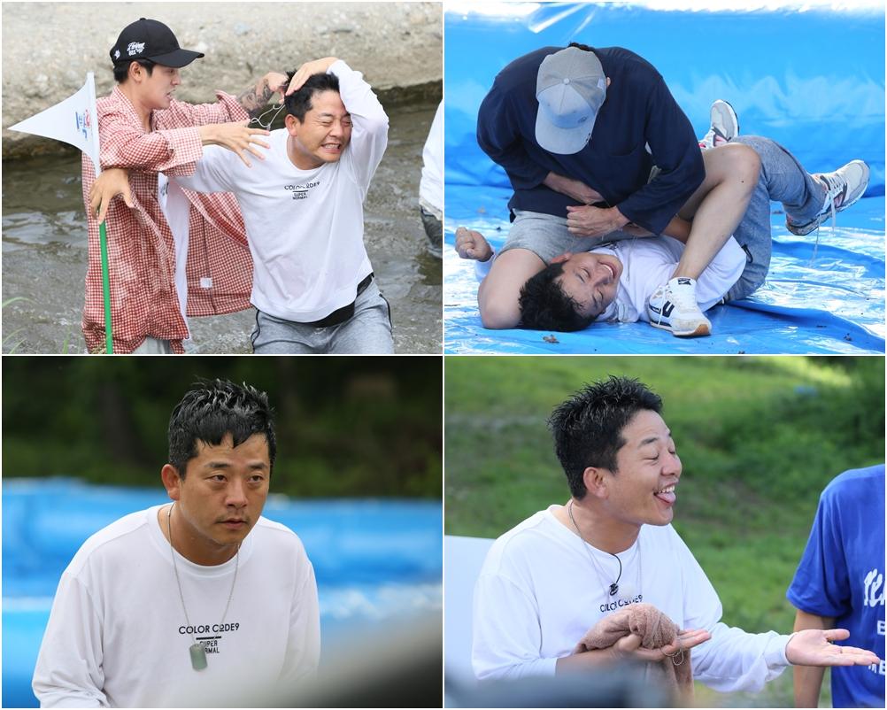 <1박 2일> 김준호, 약육강식 기상미션 1 VS 5 처절사투!