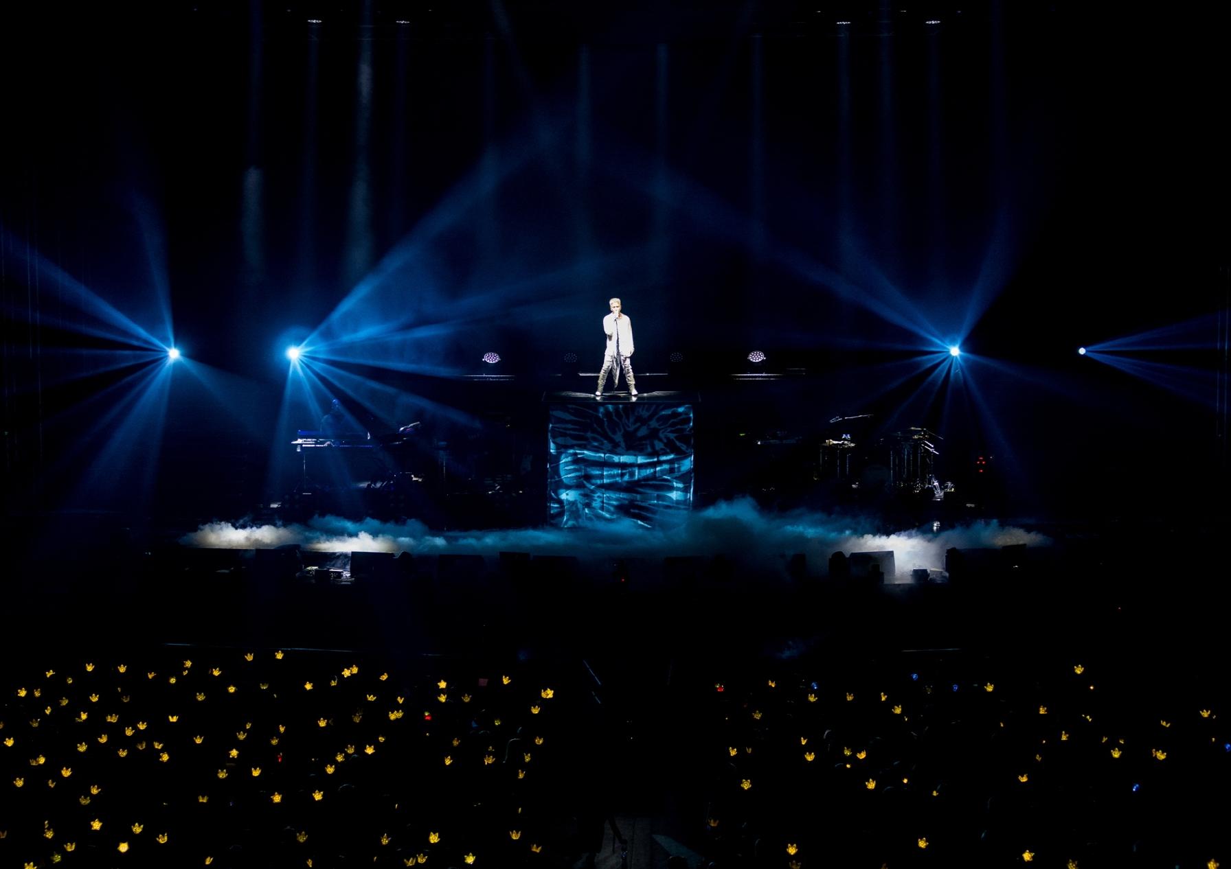 태양의 뜨겁고 지지않는 밤 'WHITE NIGHT in SEOUL' [종합]