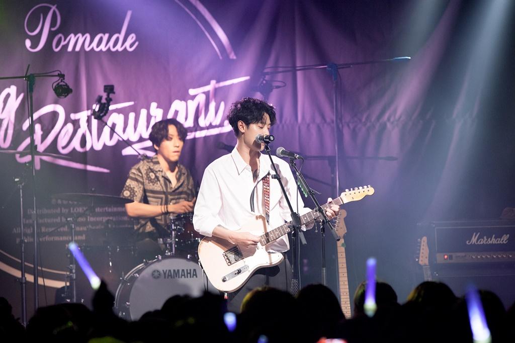 '정준영 밴드' 드럭레스토랑, 단독 콘서트 성료…로큰롤 파티