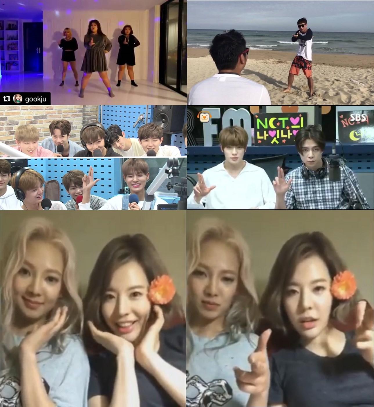 선미, 가시나 안무 커버&패러디 영상 속출! 워너원부터 소녀시대까지