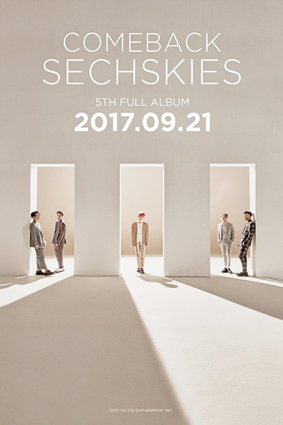 젝스키스, 21일 '신곡으로만 가득 채운 정규 앨범'으로 18년 만에 컴백  [공식]