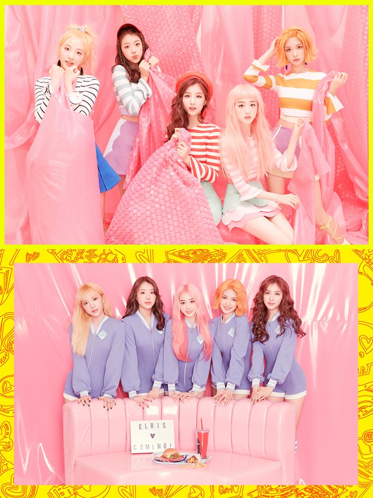 엘리스 컴백 D-7, 화사한 'Color Crush' B컷 티저 공개