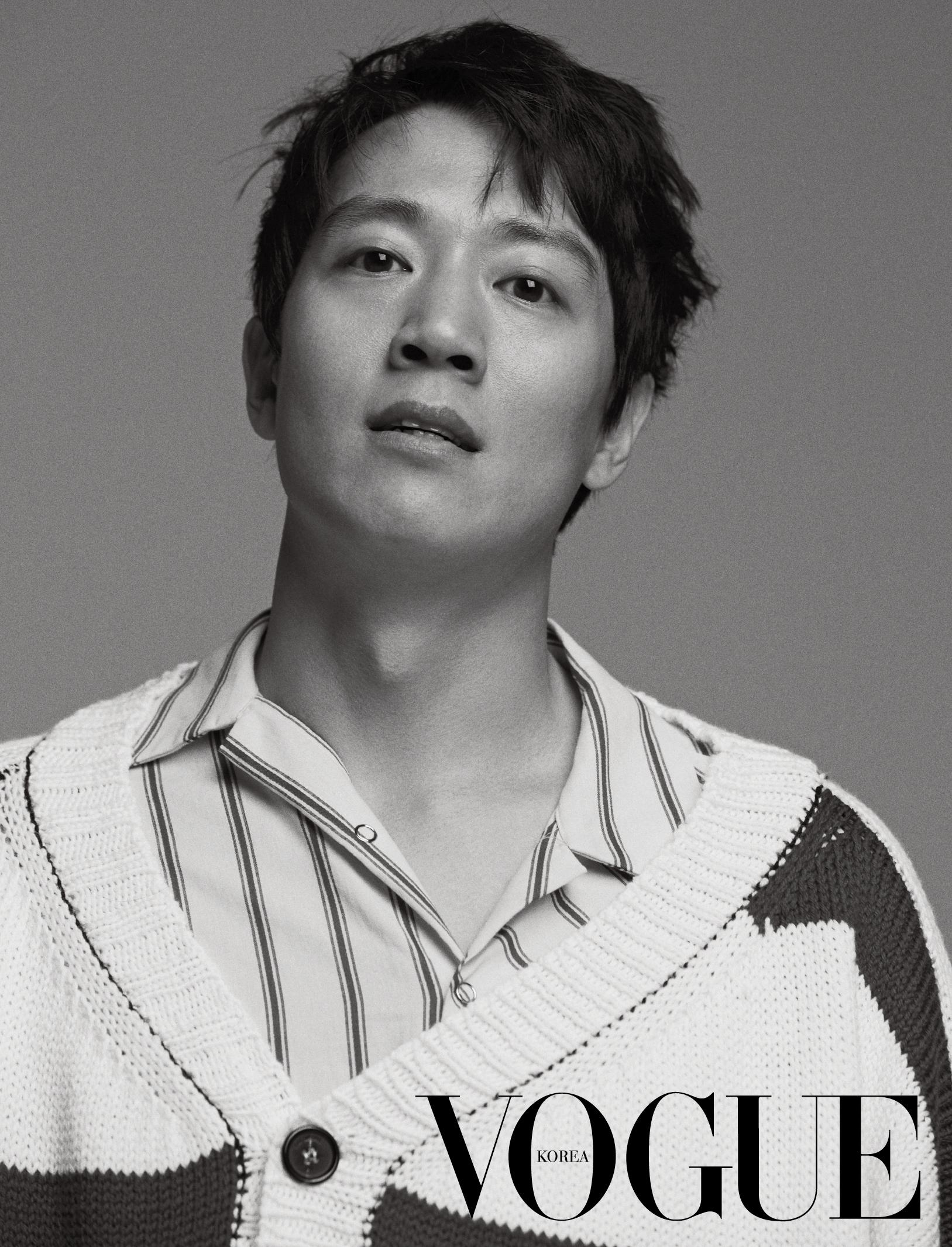 <희생부활자> '연기 장인' 뒤에 숨겨진 인간 김래원의 보그 화보 공개!