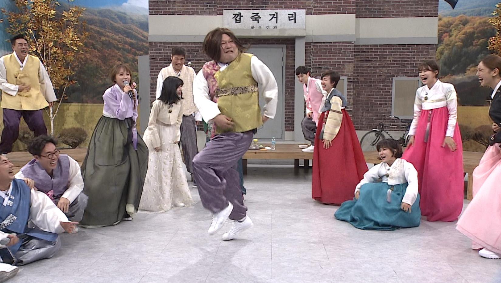 <아는 형님> 강호동, 작곡가 홍진영 손에 가수 데뷔? '제 2의 따르릉'