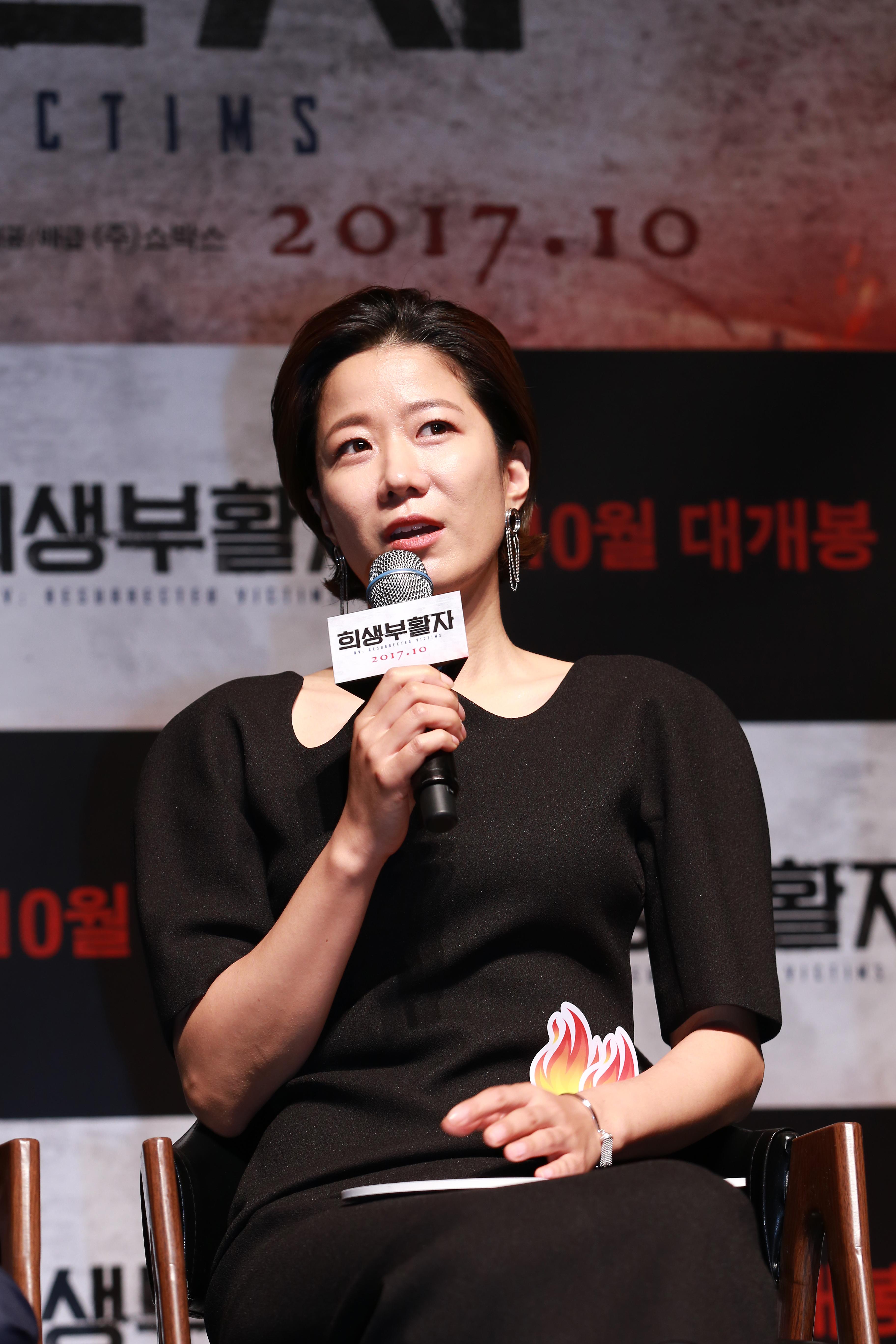 """<희생부활자> 전혜진 """"경찰전문? 하지만 작품마다 다른 연기를 한다"""""""