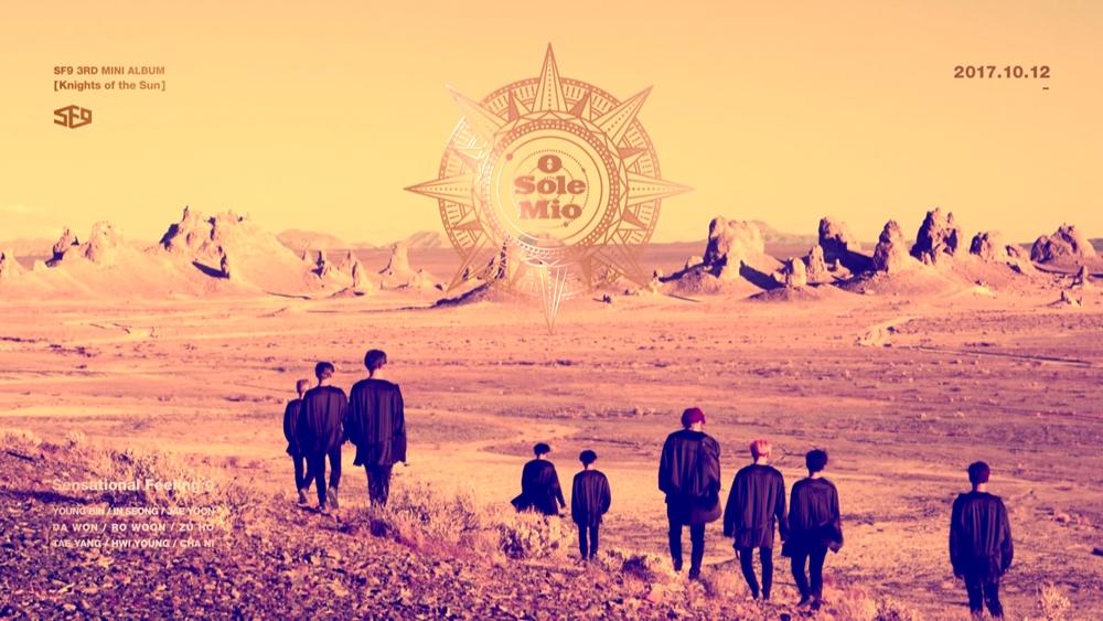 SF9, 오늘 발표하는 신곡 '오솔레미오'의 세가지 감상 포인트 공개