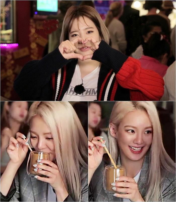 <배틀트립> 소녀시대 써니-효연, 하트 요정과 CF 요정! 미모 열일 그레잇!