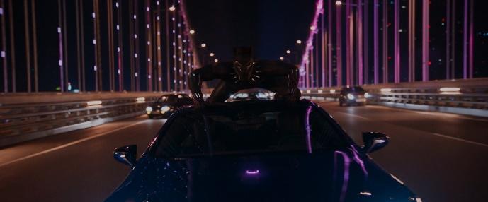 <블랙 팬서> 압도적 부산 액션 장면 본격 등장! 2018년 2월 개봉!