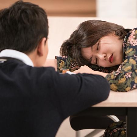최수영-온주완 꿀 떨어지는 눕방