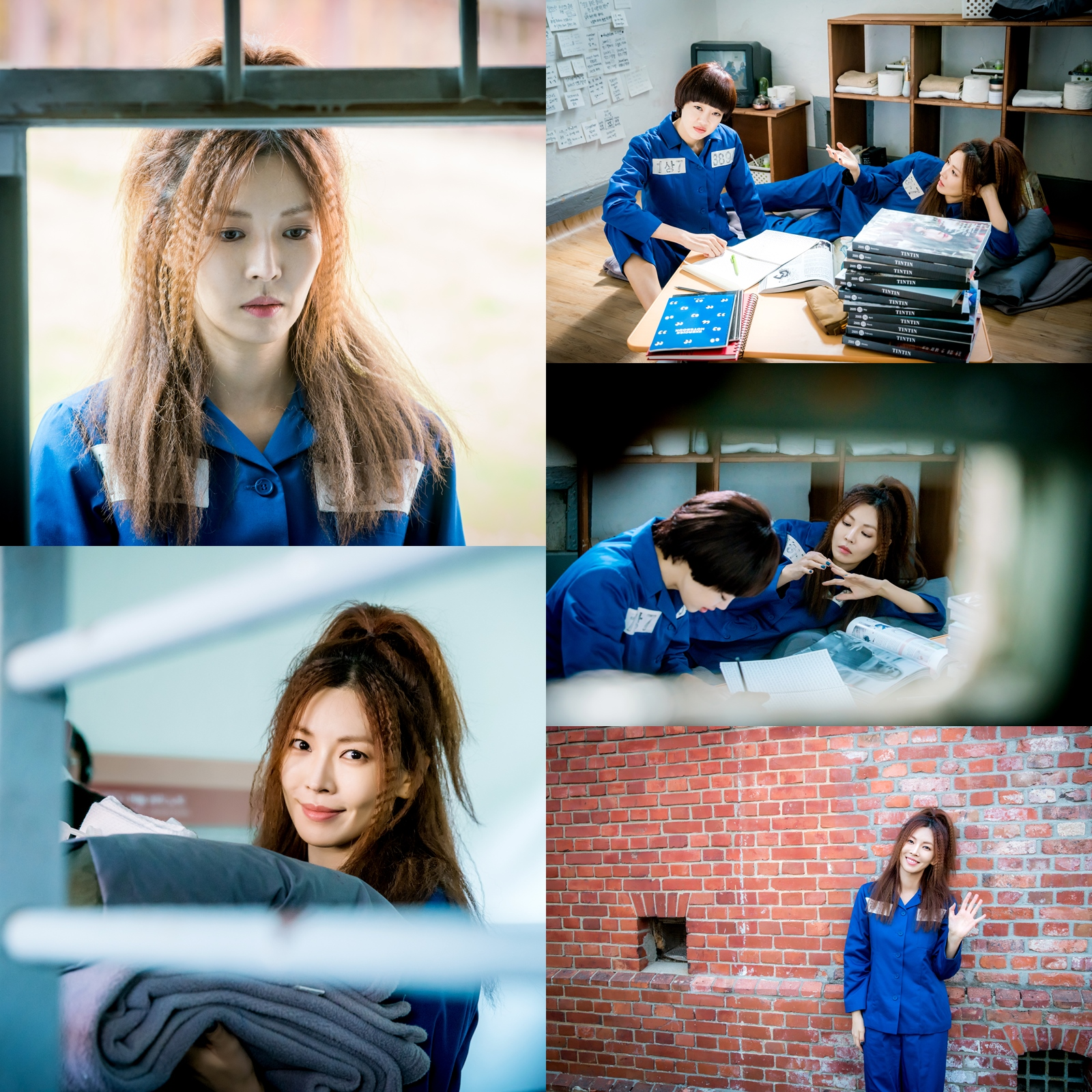 <보그맘> '염색X죄수복' 김소연, 과거 최여진 교도소 동기로 깜짝 출연