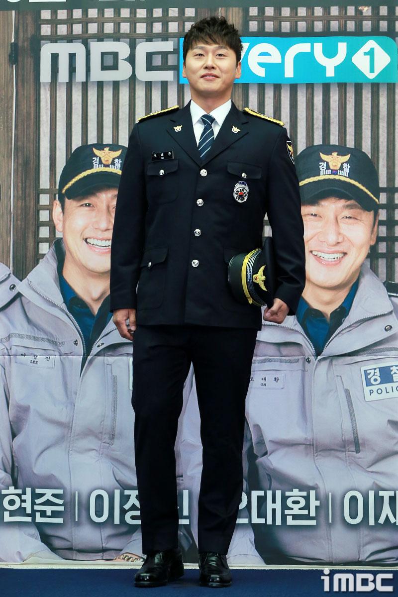 [포토] <시골경찰2> 오대환, 익숙한 경찰복