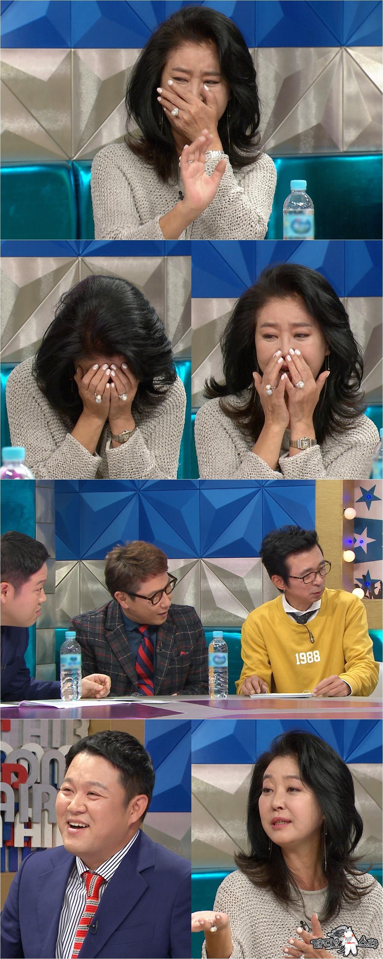 """<라디오스타> 김부선, 오프닝부터 폭풍 눈물! 김구라에겐 """"내 스타일이야!"""""""