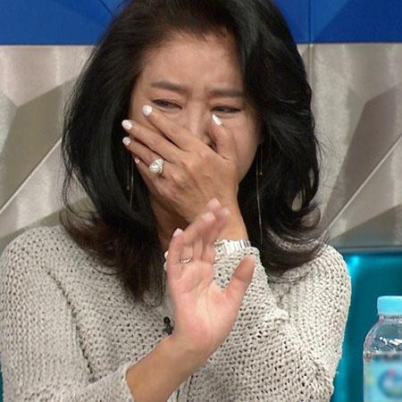 """<라디오스타> 김부선, 오프닝에 폭풍눈물! 김구라에겐 """"내 스타일이야!"""""""