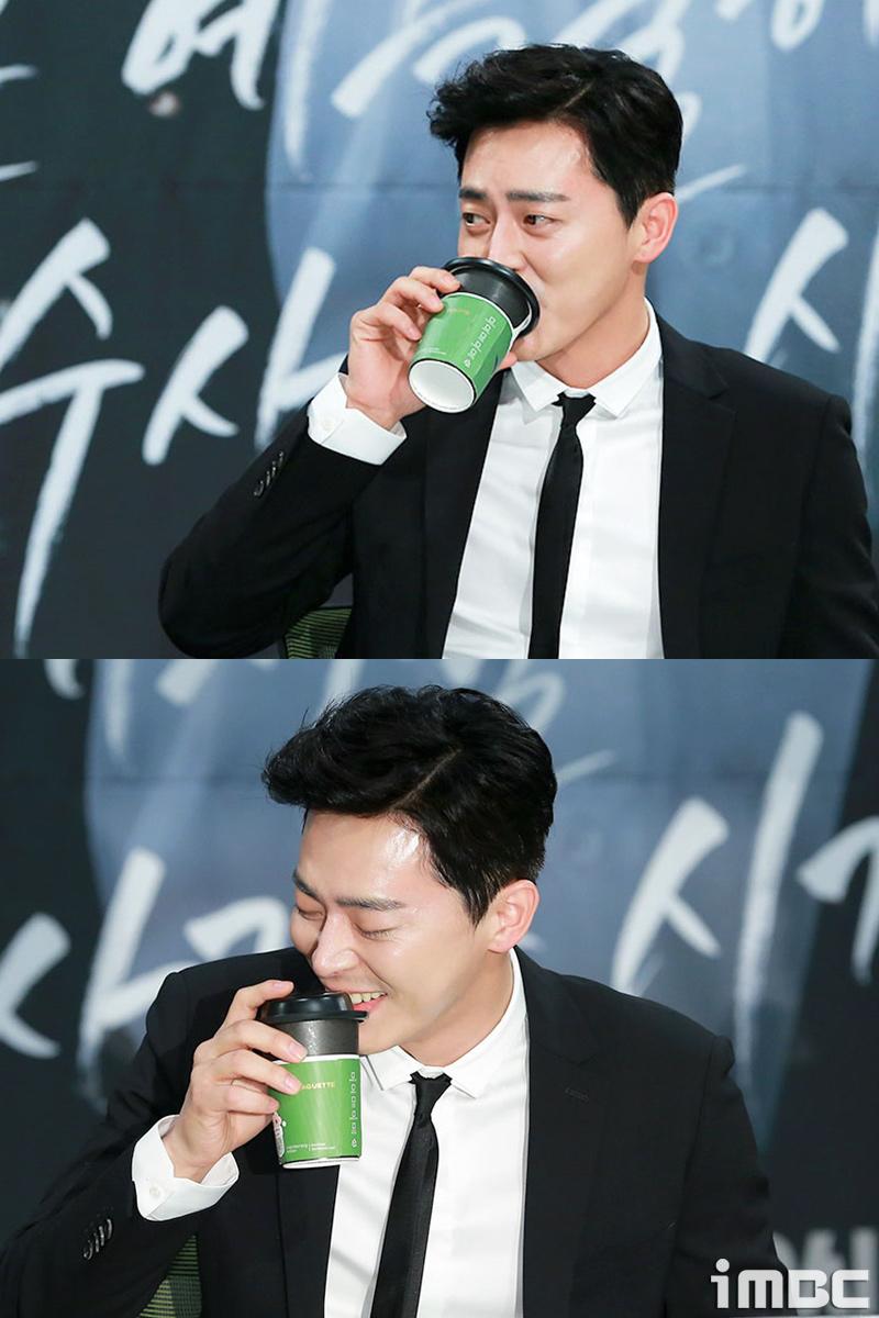 [포토] <투깝스> 조정석, 수면부족 물+카페인 필수~