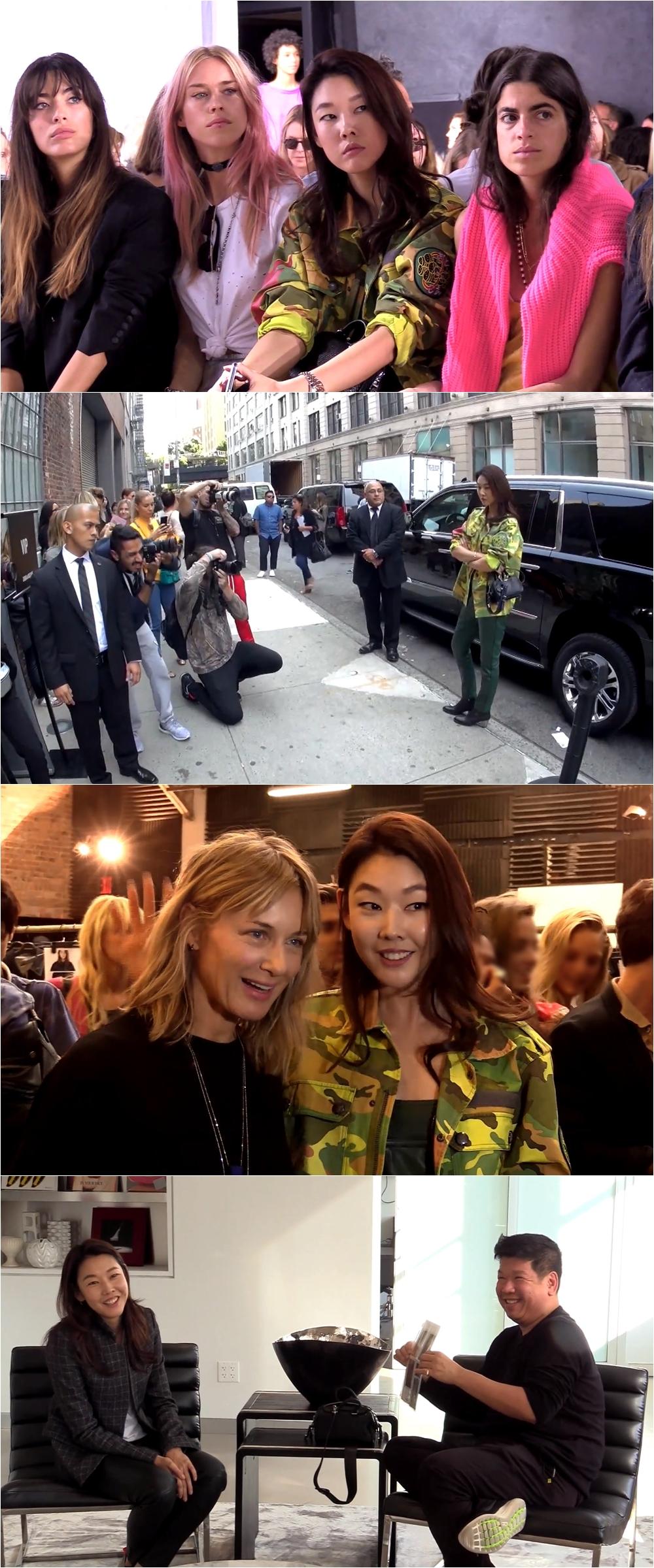 <나 혼자 산다> 톱모델 한혜진, 대한민국 대표로 뉴욕 패션위크 참석
