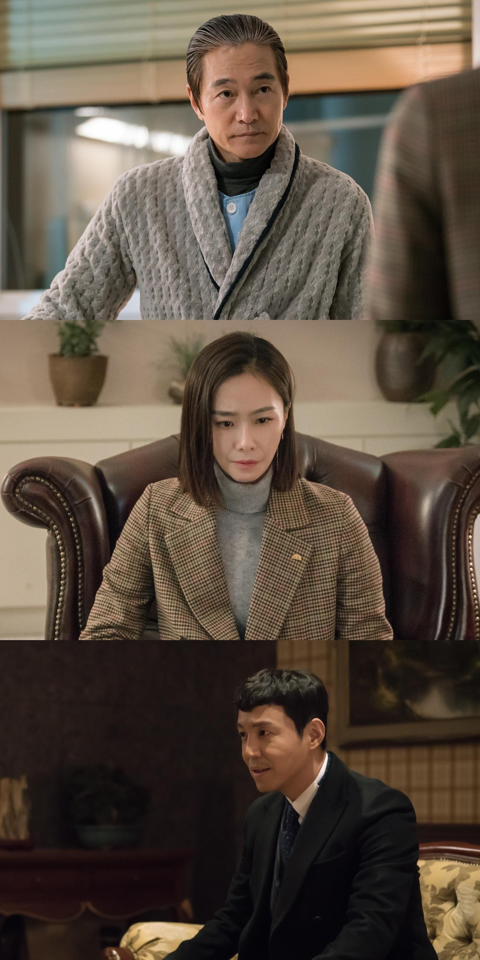 <매드독> 정보석X홍수현, 비밀 회동! 최원영, 살벌한 눈빛 '긴장감↑'