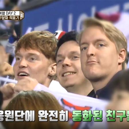 무뚝뚝한 핀란드 친구들, 한국 야구 앞에서 '무장해제'