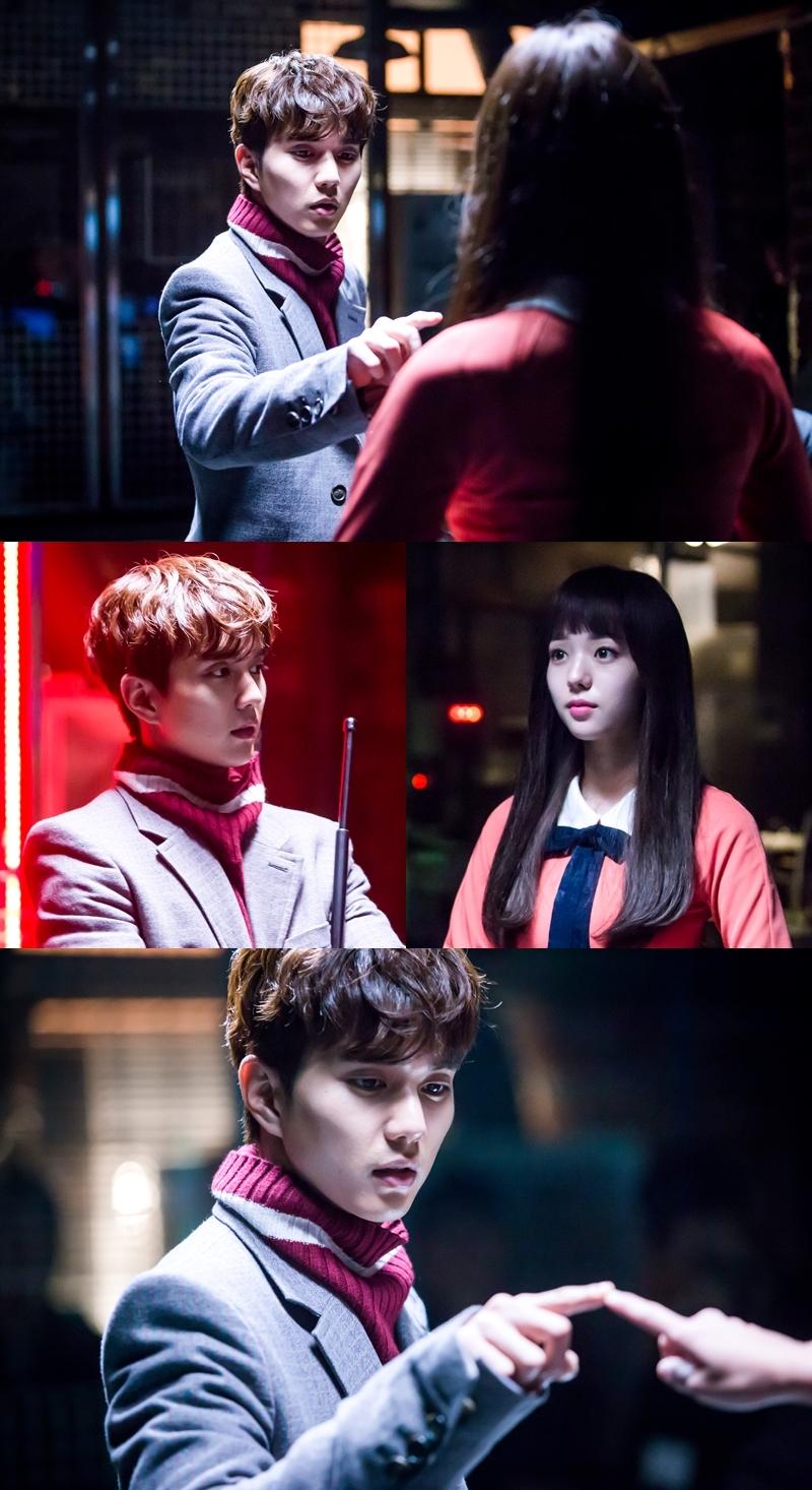 <로봇이 아니야> 유승호X채수빈, 영화 <E.T> 속 명장면 재현? '아찔X설렘'
