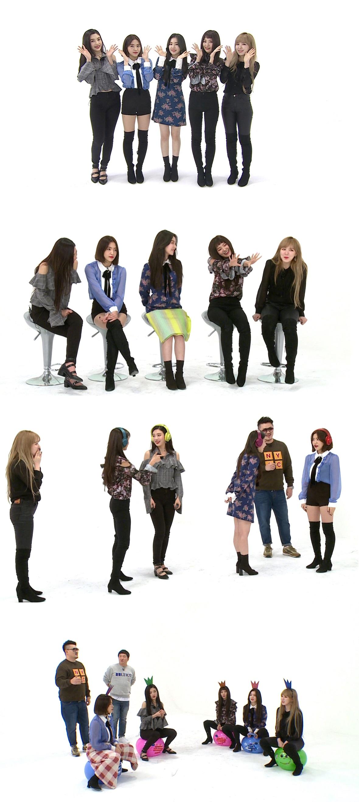 <주간아이돌> 레드벨벳, 이수만 사장 카드 놓고 '쇼미 더 수카'
