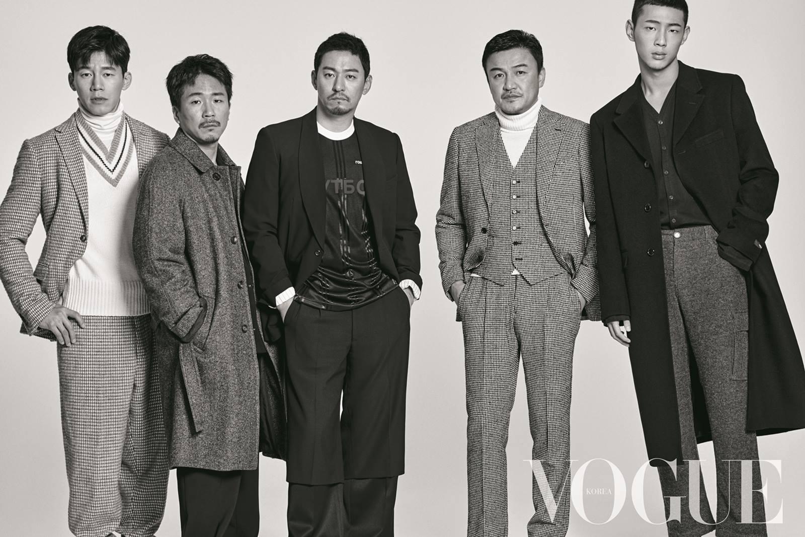 <나쁜 녀석들2> 박중훈·주진모·양익준·김무열·지수, 절대적 남성미 발산!