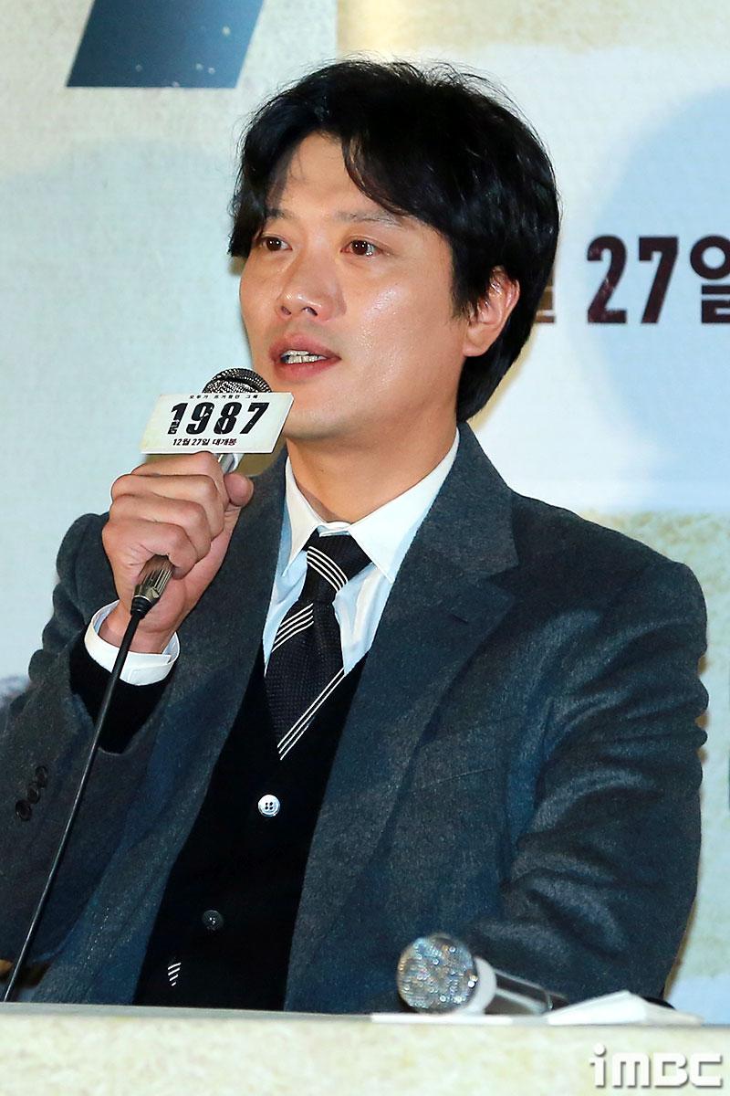 """<1987> 박희순 """"시사회가 법정처럼 느껴진다. 악역이라 죄송하다"""""""
