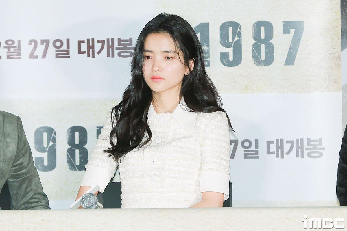 [B하인드] <1987> 김태리, 또박또박 차분한 말투