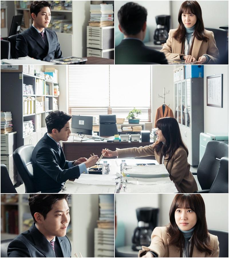 <이판사판> 박은빈-동하, 세상 가장 슬픈 '도시락 데이트' 현장 공개