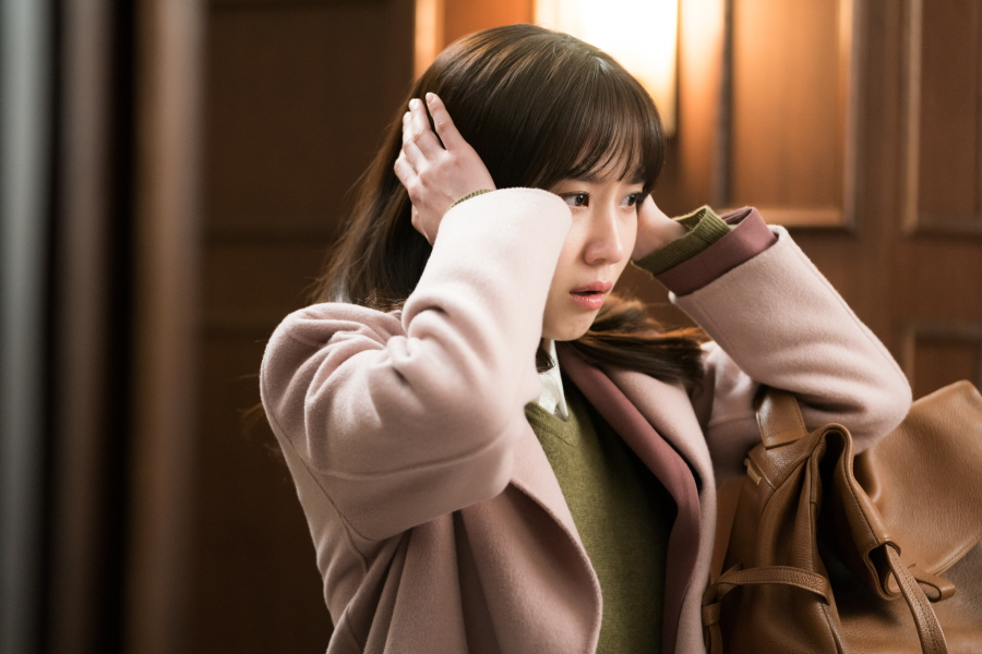 <이판사판> 박은빈-연우진, 법원 복도를 달달하게 만든,'귀막음 러브라인'