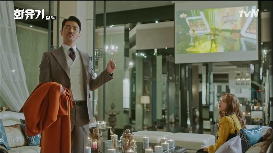 <화유기> 이승기VS우마왕, 팽팽한 대립...자체 최고 시청률 경신!