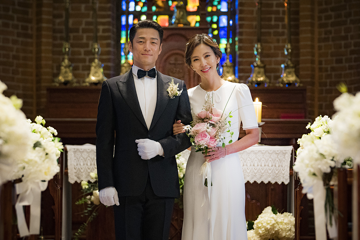 <미스티> '윈도우 부부' 김남주X지진희의 행복했던 '웨딩사진'