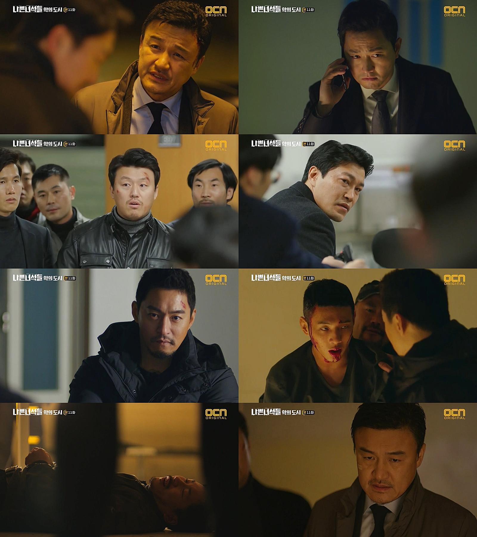 '나쁜녀석들2' 박중훈-주진모의 역습, 양익준-지수 구했다 '반격 시작'