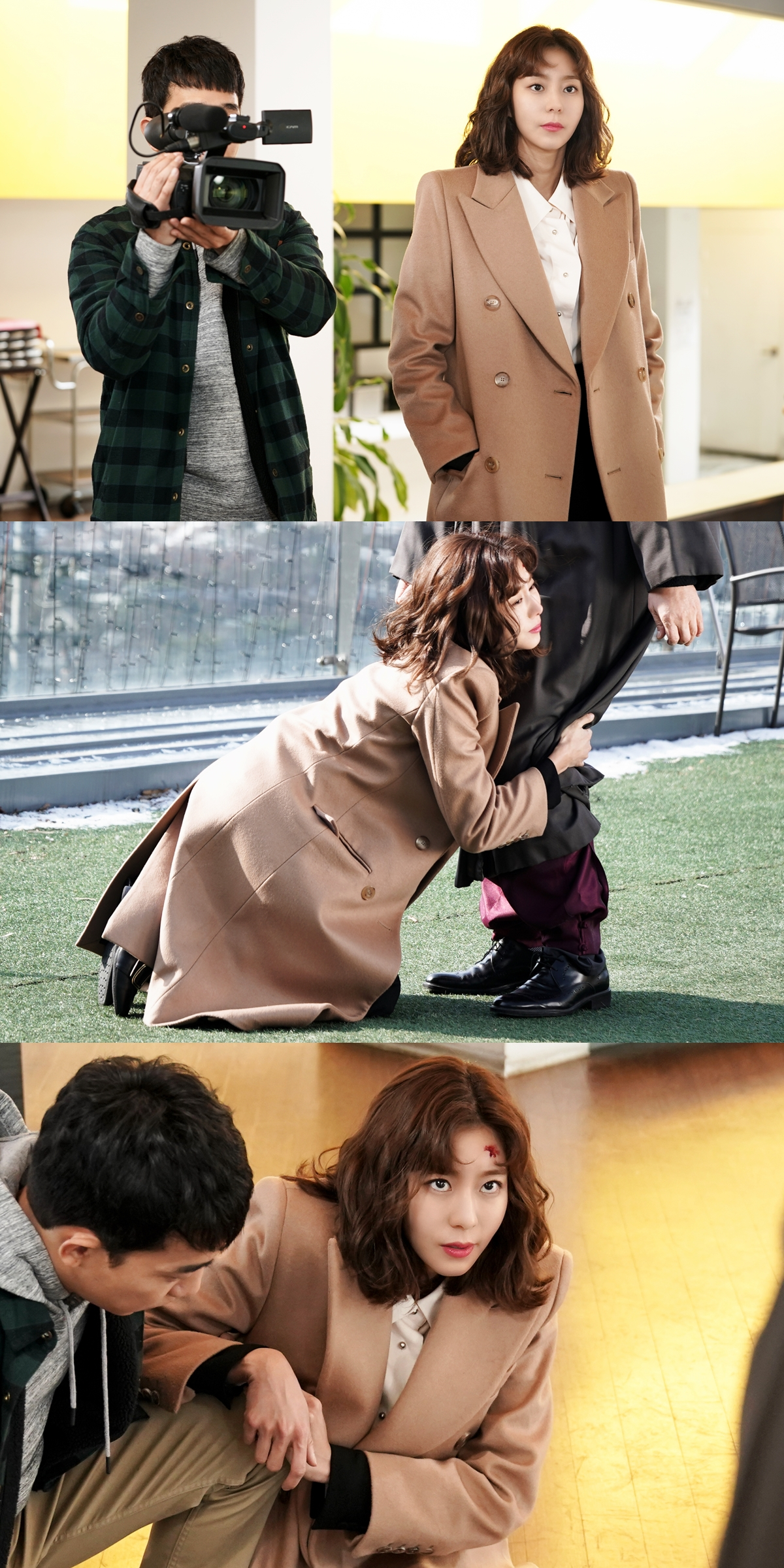 '데릴남편 오작두' 유이, 그녀는 왜 촬영 현장에서 무릎을 꿇었나?!