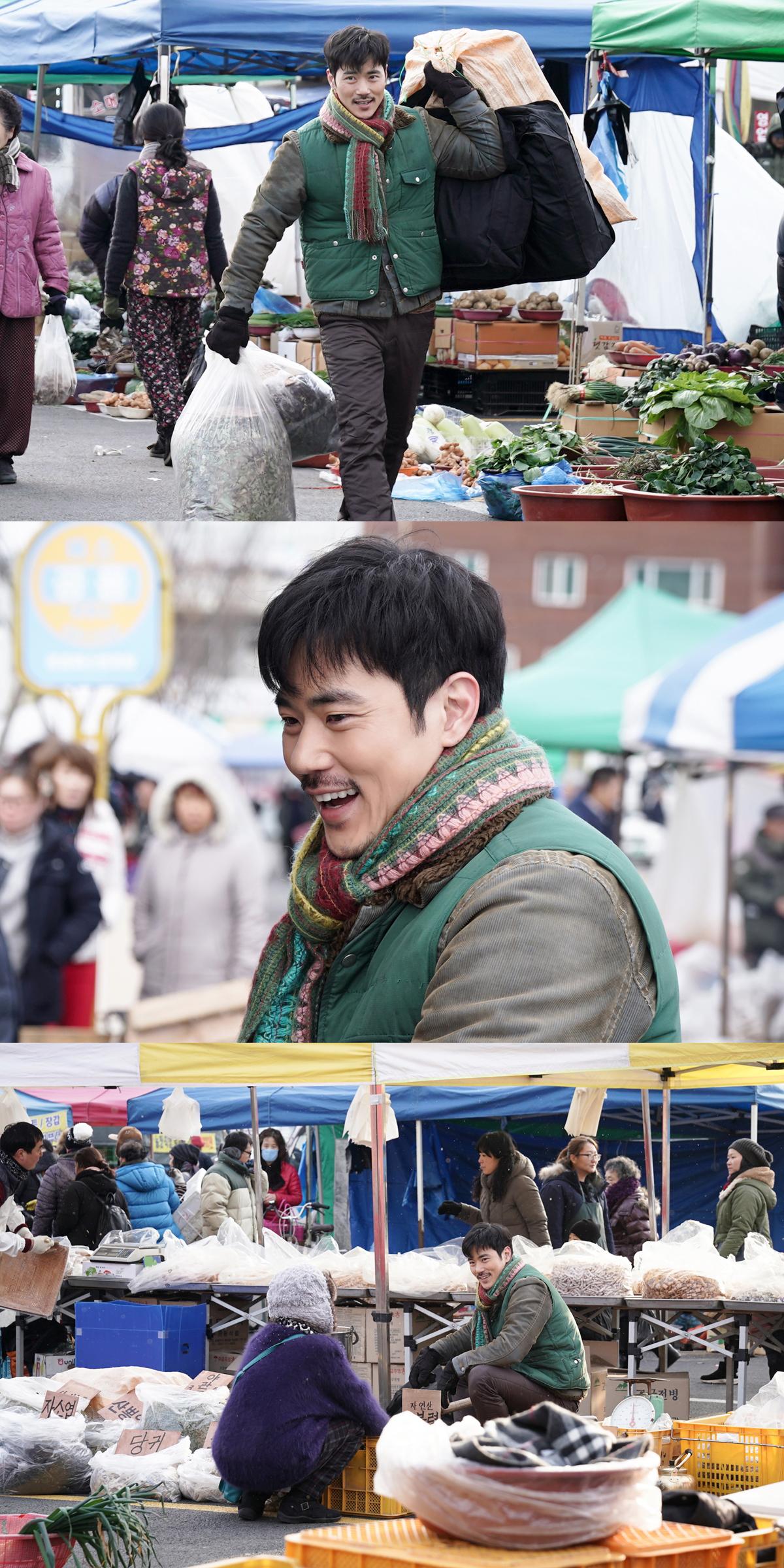 """'데릴남편 오작두' 김강우, """"오작두는 쉽게 만날 수 있는 평범한 인물 아니다"""" 파격 그 자체!"""