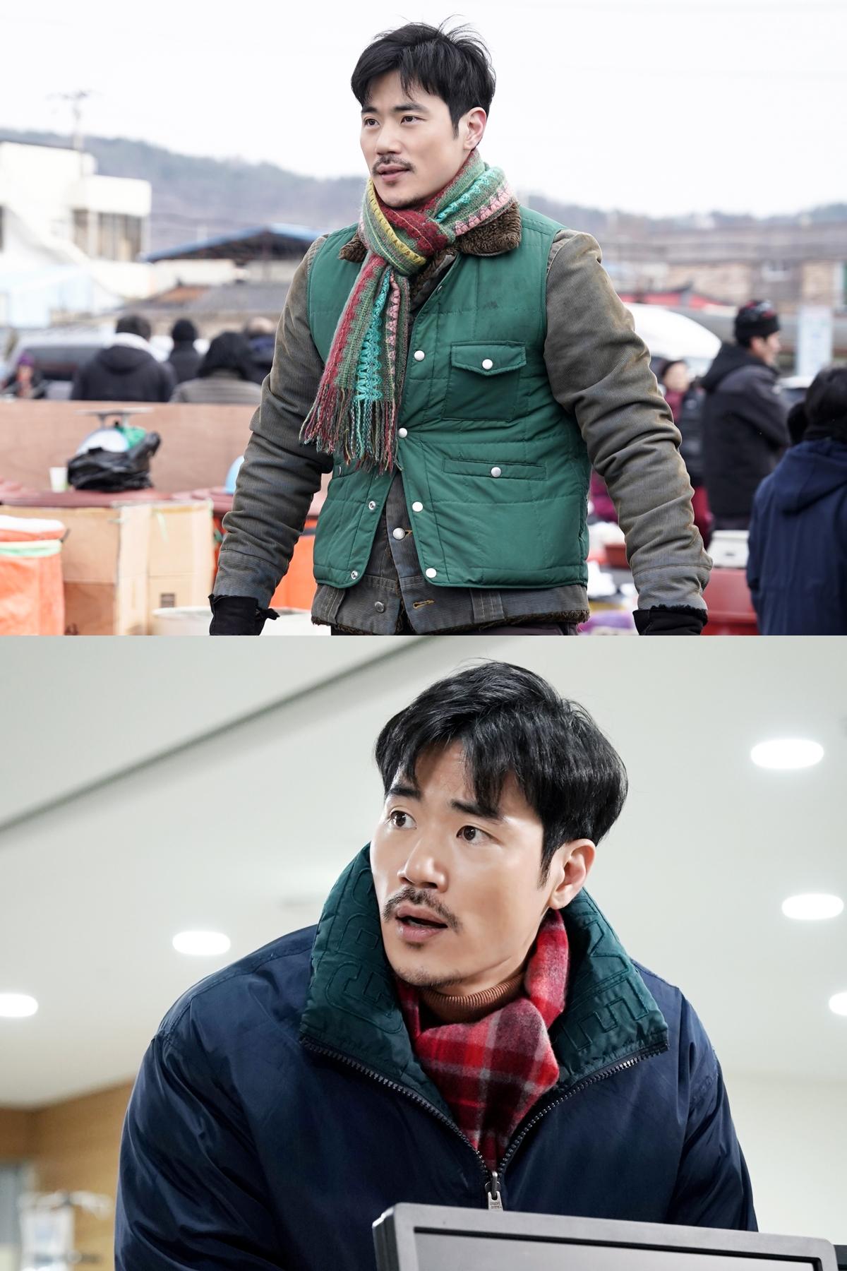 """'데릴남편 오작두' 김강우 """"헤어스타일부터 수염, 패션, 걸음걸이까지 바꾸려고 노력"""""""