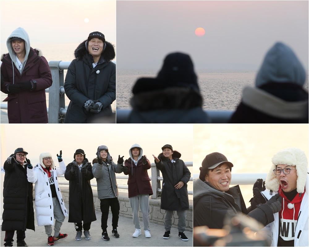 '1박 2일' '투얍쓰' 김준호VS김종민, 동맹 결렬.. 새해 첫 기상 미션 '폭소'