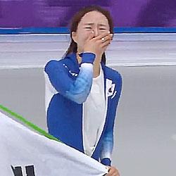 이상화, 올림픽 3회 연속 메달 쾌거…빙속 500m 은메달