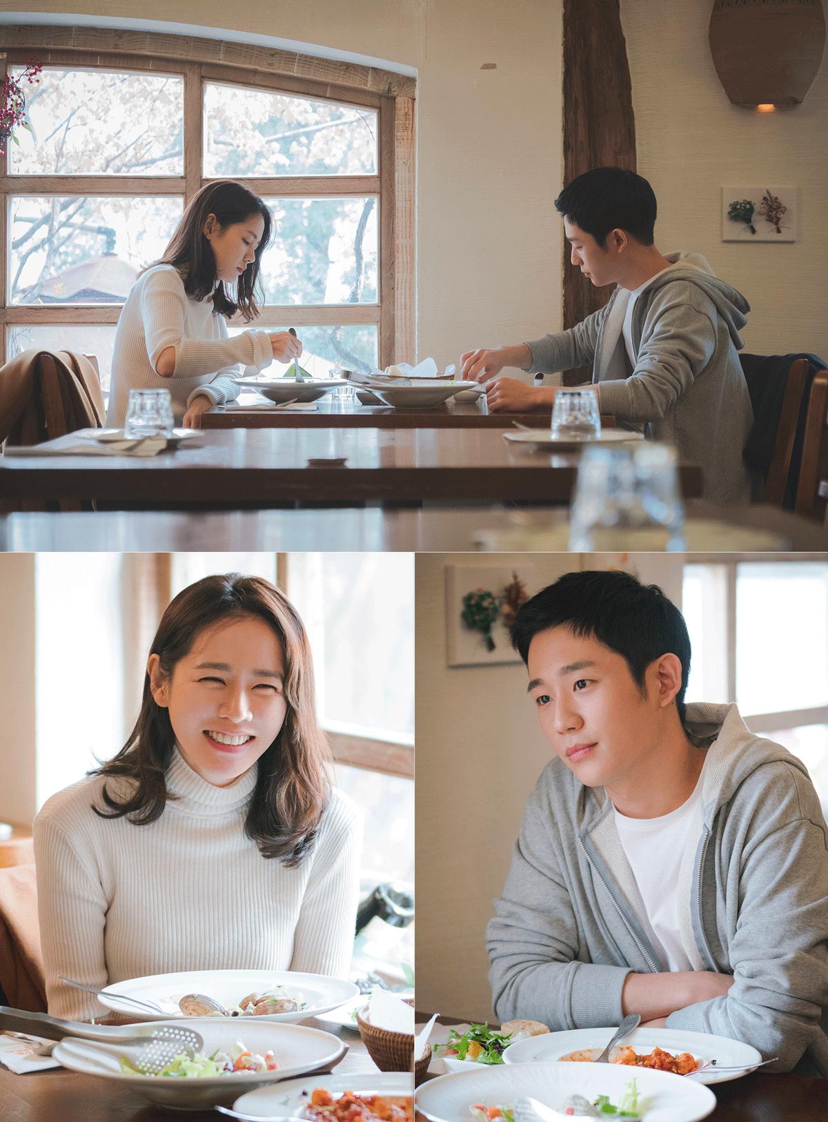 '예쁜 누나' 손예진-정해인, '멜로 눈빛'으로 기대감↑ '사랑스러운 커플'