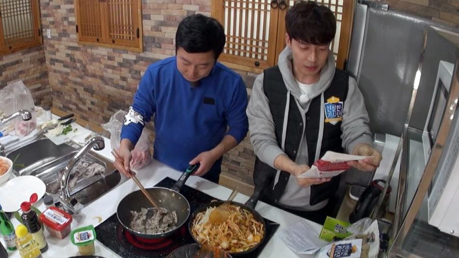 '친절한 기사단' 이수근, 업그레이드 삼겹살 김밥 공개! '한식 홈파티'